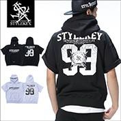 STYLEKEY/スタイルキー/VIGOR S/S HOOD SWEAT/商品ページ