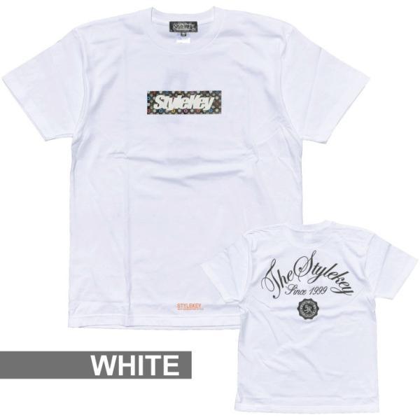 STYLEKEY スタイルキー Tシャツ MULTI MONO BOX S/S TEE(SK18SU-SS05) ストリート系 B系 大きいサイズ b-bros 08