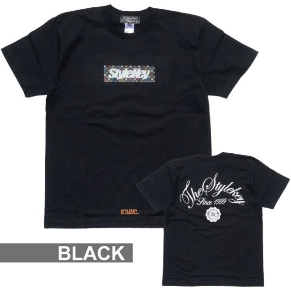STYLEKEY スタイルキー Tシャツ MULTI MONO BOX S/S TEE(SK18SU-SS05) ストリート系 B系 大きいサイズ b-bros 09