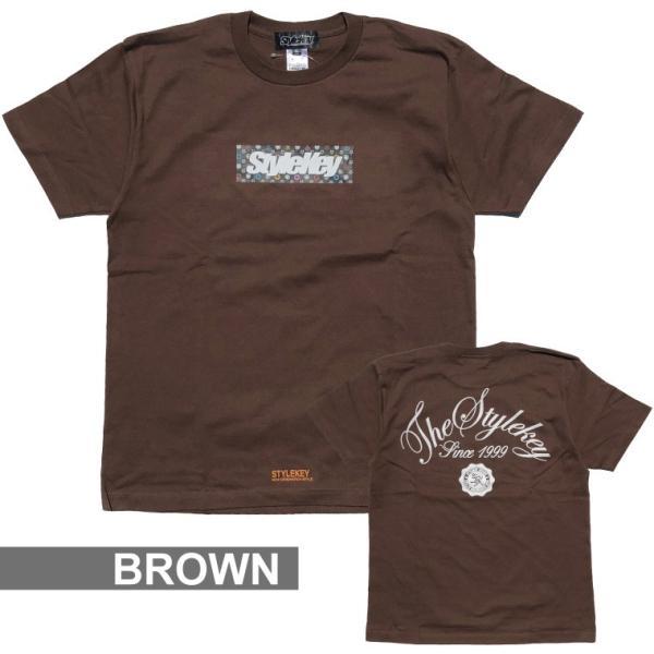 STYLEKEY スタイルキー Tシャツ MULTI MONO BOX S/S TEE(SK18SU-SS05) ストリート系 B系 大きいサイズ b-bros 10