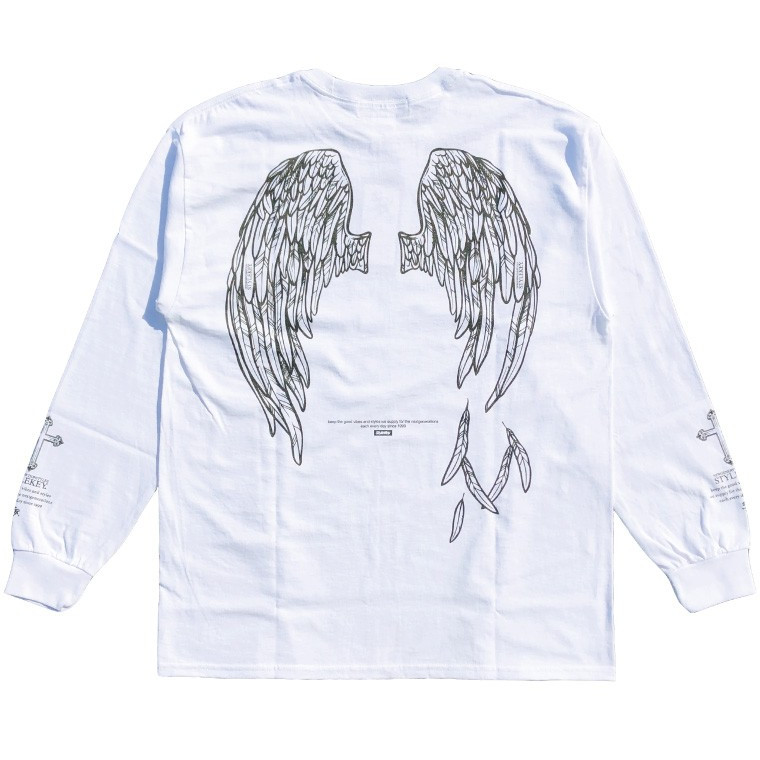 STYLEKEY(スタイルキー) 長袖Tシャツ FALLEN ANGEL L/S TEE(SK19HO-LS06) ロングスリーブTシャツ ストリート系 B系 大きいサイズ|b-bros|10
