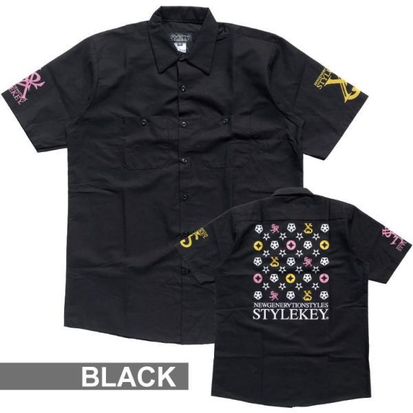 STYLEKEY スタイルキー 半袖シャツ IMAGINATION S/S SHIRT(SK19SP-BL02) ストリート系 B系 大きいサイズ|b-bros|05