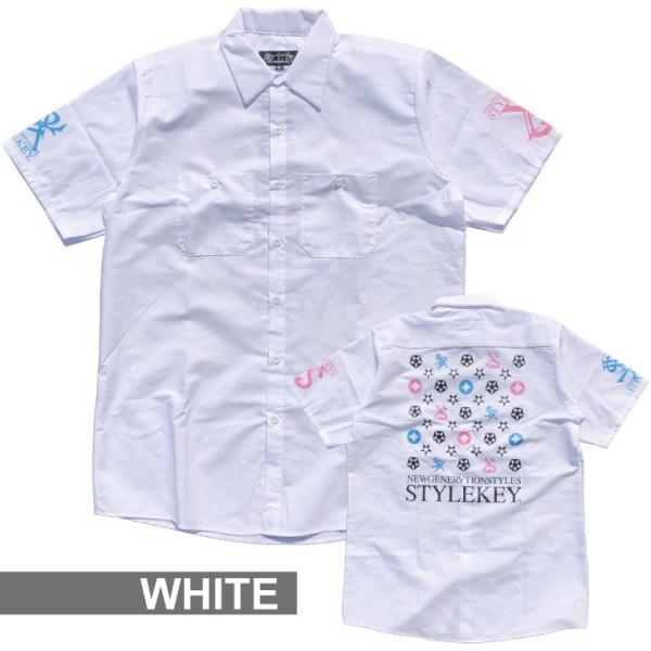 STYLEKEY スタイルキー 半袖シャツ IMAGINATION S/S SHIRT(SK19SP-BL02) ストリート系 B系 大きいサイズ|b-bros|06