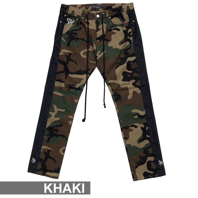 STYLEKEY スタイルキー 迷彩スキニーパンツ CAMOUFLAGE LINE SKINNY PANTS(SK20FW-PT01) ストリートファッション カモ サイドライン B系 大きいサイズ|b-bros|06