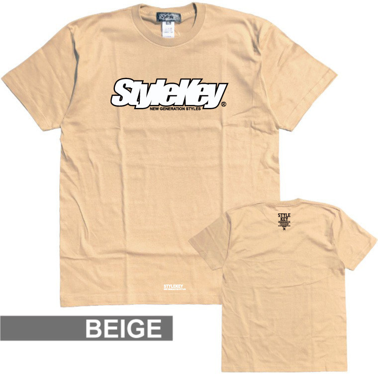 STYLEKEY(スタイルキー) 半袖Tシャツ SMART LOGO S/S TEE(SK21SP-SS02) ストリートファッション ヒップホップ レゲエ ダンス B系 定番ロゴ 大きいサイズ|b-bros|14