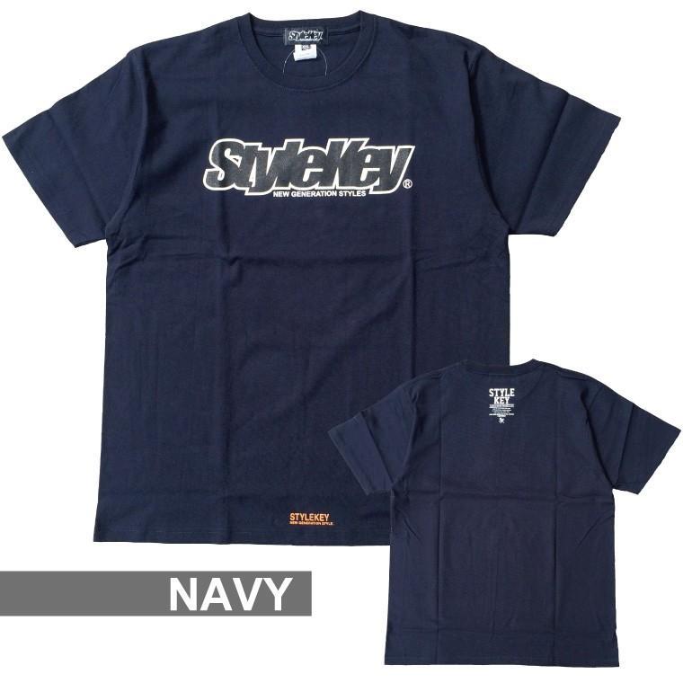STYLEKEY(スタイルキー) 半袖Tシャツ SMART LOGO S/S TEE(SK21SP-SS02) ストリートファッション ヒップホップ レゲエ ダンス B系 定番ロゴ 大きいサイズ|b-bros|16
