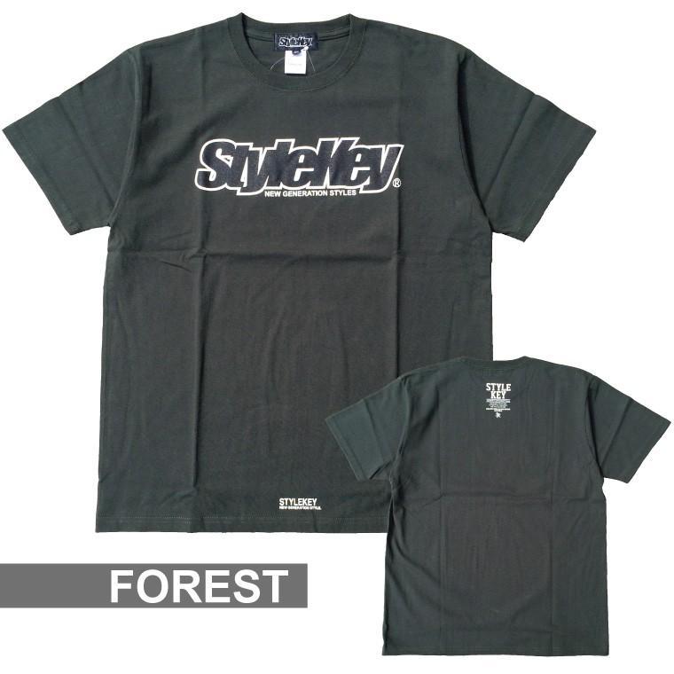 STYLEKEY(スタイルキー) 半袖Tシャツ SMART LOGO S/S TEE(SK21SP-SS02) ストリートファッション ヒップホップ レゲエ ダンス B系 定番ロゴ 大きいサイズ|b-bros|17