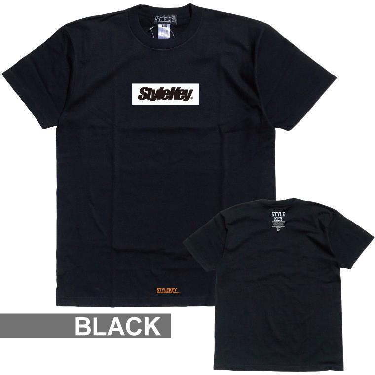 STYLEKEY(スタイルキー) 半袖Tシャツ BOX LOGO S/S TEE(SK21SP-SS03) ストリートファッション ヒップホップ レゲエ ダンス スケート B系 定番ロゴ 大きいサイズ|b-bros|12