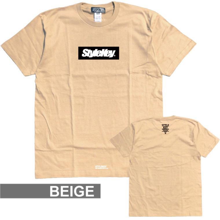 STYLEKEY(スタイルキー) 半袖Tシャツ BOX LOGO S/S TEE(SK21SP-SS03) ストリートファッション ヒップホップ レゲエ ダンス スケート B系 定番ロゴ 大きいサイズ|b-bros|14