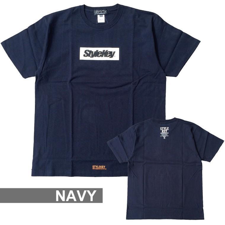 STYLEKEY(スタイルキー) 半袖Tシャツ BOX LOGO S/S TEE(SK21SP-SS03) ストリートファッション ヒップホップ レゲエ ダンス スケート B系 定番ロゴ 大きいサイズ|b-bros|16