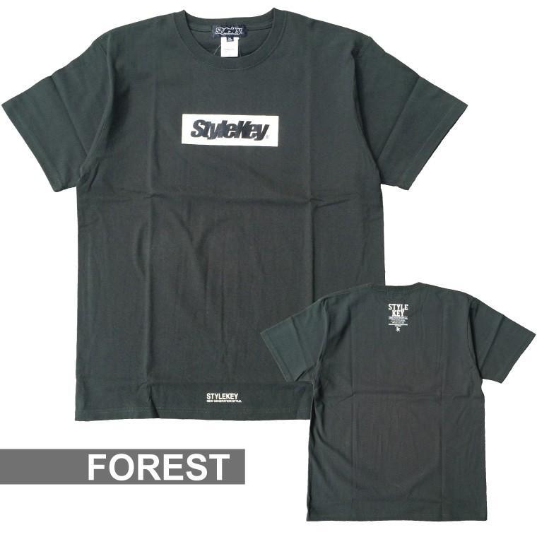 STYLEKEY(スタイルキー) 半袖Tシャツ BOX LOGO S/S TEE(SK21SP-SS03) ストリートファッション ヒップホップ レゲエ ダンス スケート B系 定番ロゴ 大きいサイズ|b-bros|17