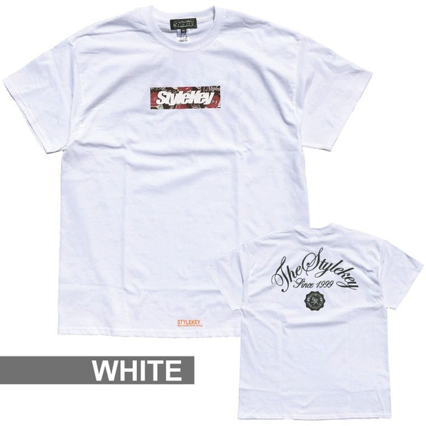 STYLEKEY スタイルキー 半袖Tシャツ ROSE BOX S/S TEE(SK19SP-SS05) ストリート系 B系 大きいサイズ|b-bros|06