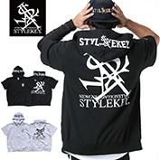 STYLEKEY/スタイルキー/PRIME ROYAL S/S ZIP HOOD SWEAT/商品ページ