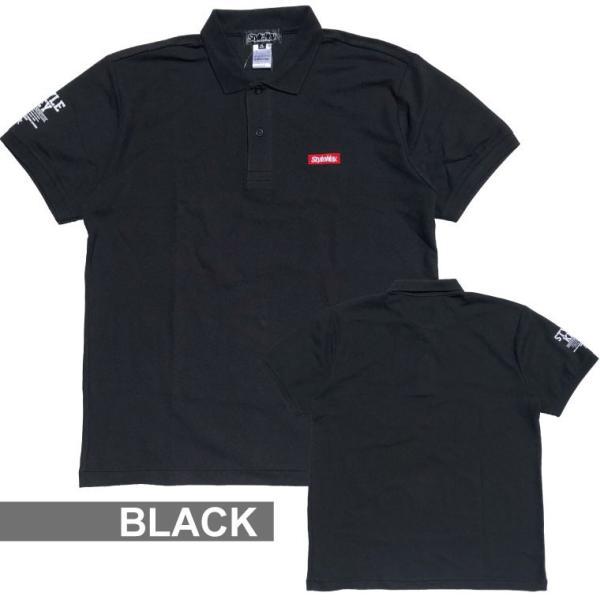 STYLEKEY スタイルキー ポロシャツ SMART BOX 鹿の子 S/S POLO(SK19SU-PL01) ストリート系 B系 大きいサイズ b-bros 04