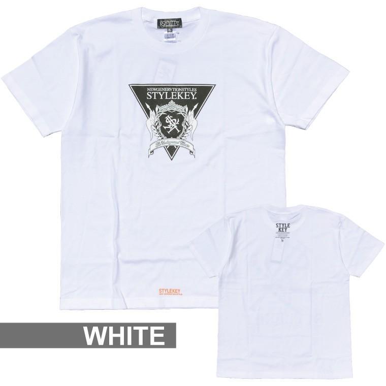 STYLEKEY(スタイルキー) 半袖Tシャツ TRIANGLE LOGO S/S TEE(SK21SU-SS04) ストリートファッション ヒップホップ レゲエ ダンス B系 定番ロゴ 大きいサイズ b-bros 10