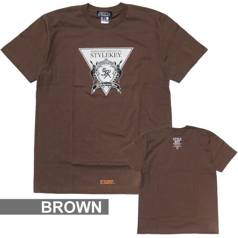 STYLEKEY(スタイルキー) 半袖Tシャツ TRIANGLE LOGO S/S TEE(SK21SU-SS04) ストリートファッション ヒップホップ レゲエ ダンス B系 定番ロゴ 大きいサイズ b-bros 12