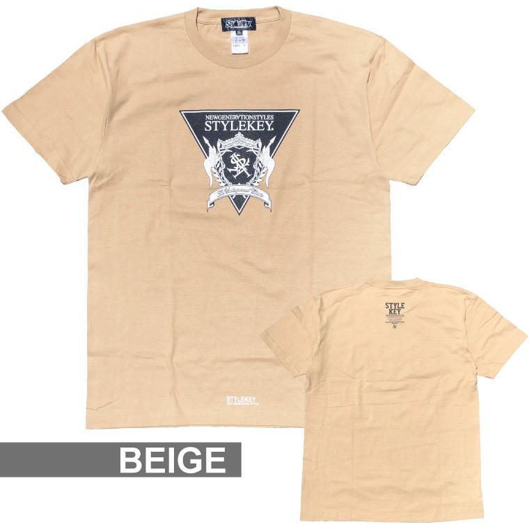 STYLEKEY(スタイルキー) 半袖Tシャツ TRIANGLE LOGO S/S TEE(SK21SU-SS04) ストリートファッション ヒップホップ レゲエ ダンス B系 定番ロゴ 大きいサイズ b-bros 13
