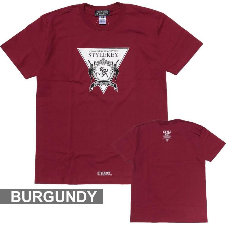 STYLEKEY(スタイルキー) 半袖Tシャツ TRIANGLE LOGO S/S TEE(SK21SU-SS04) ストリートファッション ヒップホップ レゲエ ダンス B系 定番ロゴ 大きいサイズ b-bros 14
