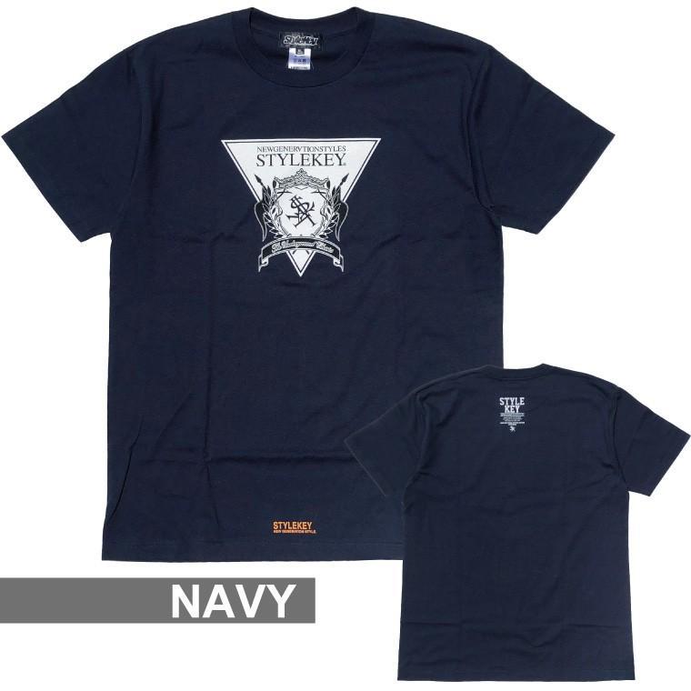 STYLEKEY(スタイルキー) 半袖Tシャツ TRIANGLE LOGO S/S TEE(SK21SU-SS04) ストリートファッション ヒップホップ レゲエ ダンス B系 定番ロゴ 大きいサイズ b-bros 15