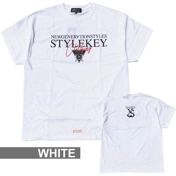 STYLEKEY スタイルキー 半袖Tシャツ TRIAL S/S TEE(SK19SU-SS05) ストリート系 B系 大きいサイズ|b-bros|06