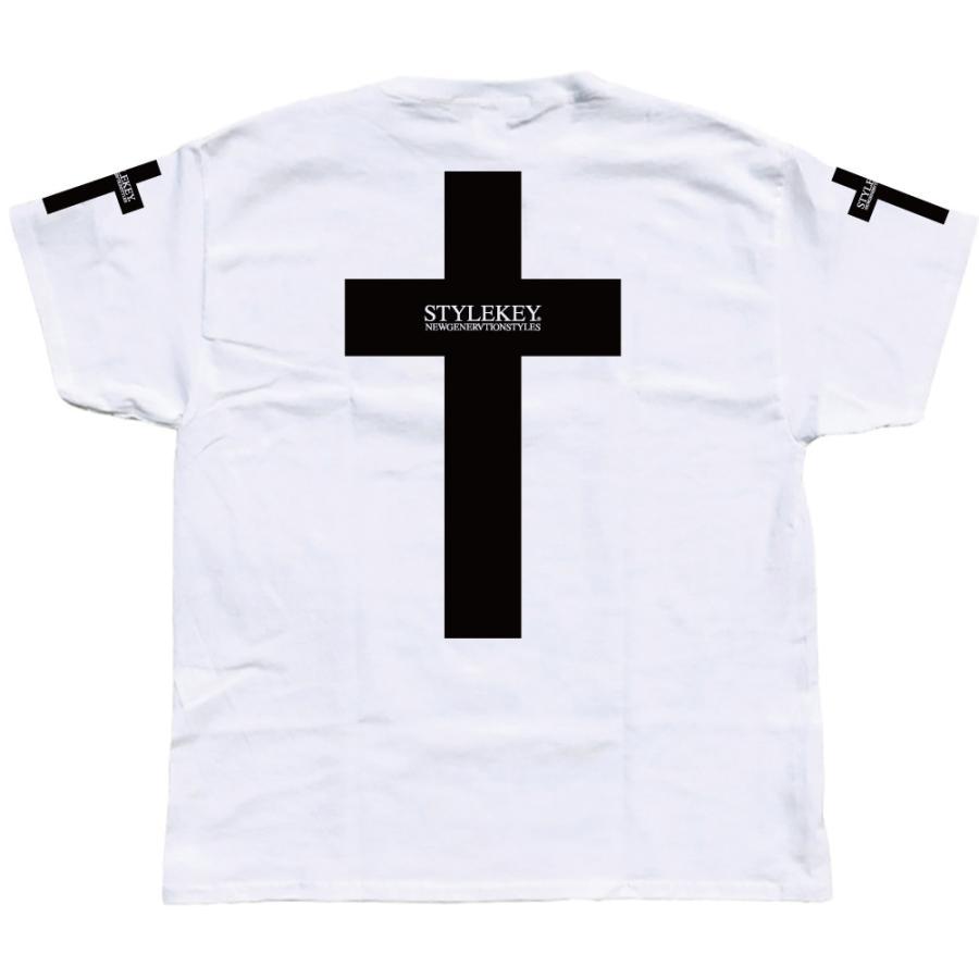 STYLEKEY スタイルキー 半袖Tシャツ CROSS BORN S/S TEE(SK19SU-SS17) ストリート系 B系 大きいサイズ|b-bros|08