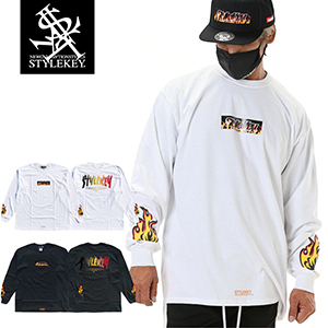 STYLEKEY/スタイルキー/FIRE BOX L/S TEE/商品ページ