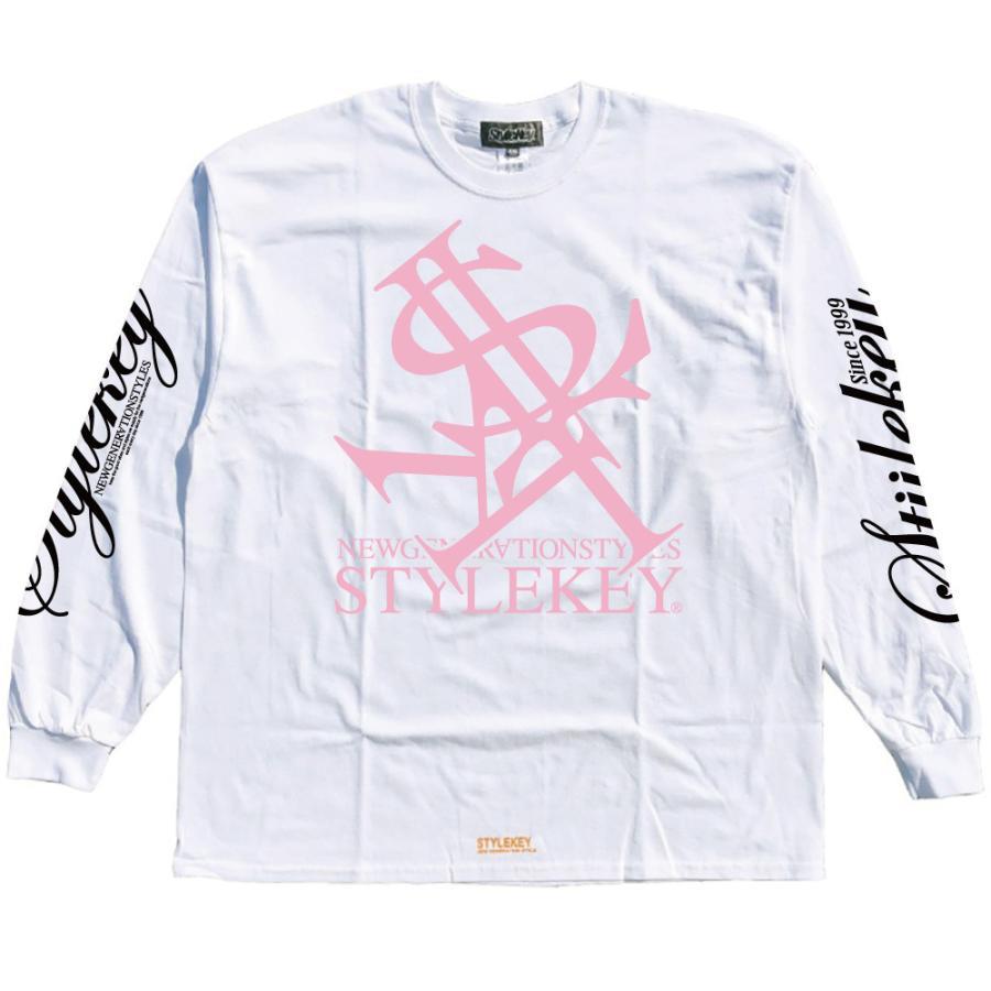 STYLEKEY(スタイルキー) 長袖Tシャツ NEON ROYAL L/S TEE(SK21FW-LS07) ロングスリーブTシャツ ストリート ヒップホップ レゲエ B系 ロイヤル ロゴ 大きいサイズ|b-bros|13