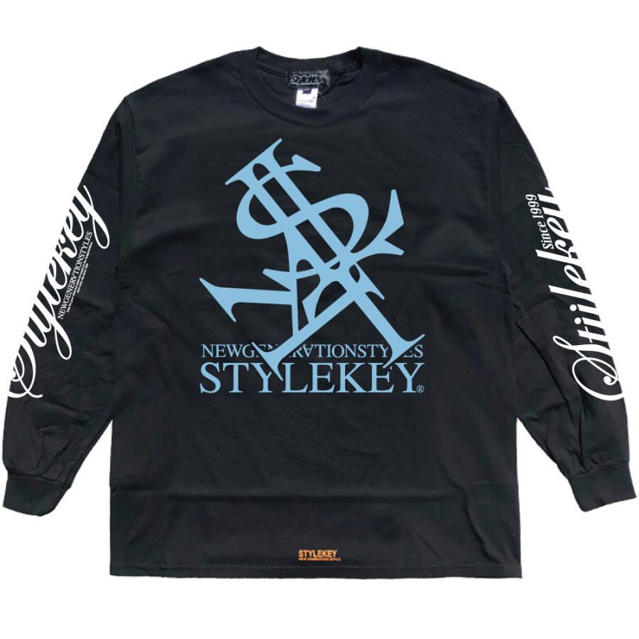 STYLEKEY(スタイルキー) 長袖Tシャツ NEON ROYAL L/S TEE(SK21FW-LS07) ロングスリーブTシャツ ストリート ヒップホップ レゲエ B系 ロイヤル ロゴ 大きいサイズ|b-bros|14