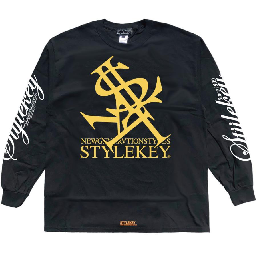 STYLEKEY(スタイルキー) 長袖Tシャツ NEON ROYAL L/S TEE(SK21FW-LS07) ロングスリーブTシャツ ストリート ヒップホップ レゲエ B系 ロイヤル ロゴ 大きいサイズ|b-bros|15