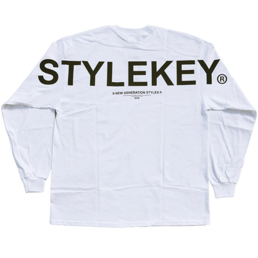 STYLEKEY(スタイルキー) 長袖Tシャツ SCALE L/S TEE(SK21FW-LS09) ロングスリーブTシャツ ストリート ヒップホップ レゲエ B系 バンド ビッグ ロゴ 大きいサイズ|b-bros|08