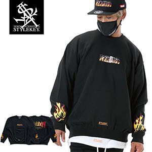 STYLEKEY/スタイルキー/FIRE BOX CREW SWEAT/商品ページ