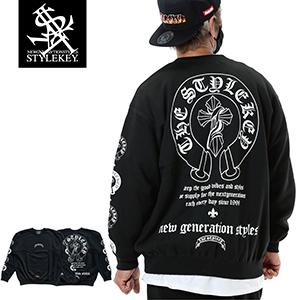 STYLEKEY/スタイルキー/GENESIS CREW SWEAT/商品ページ