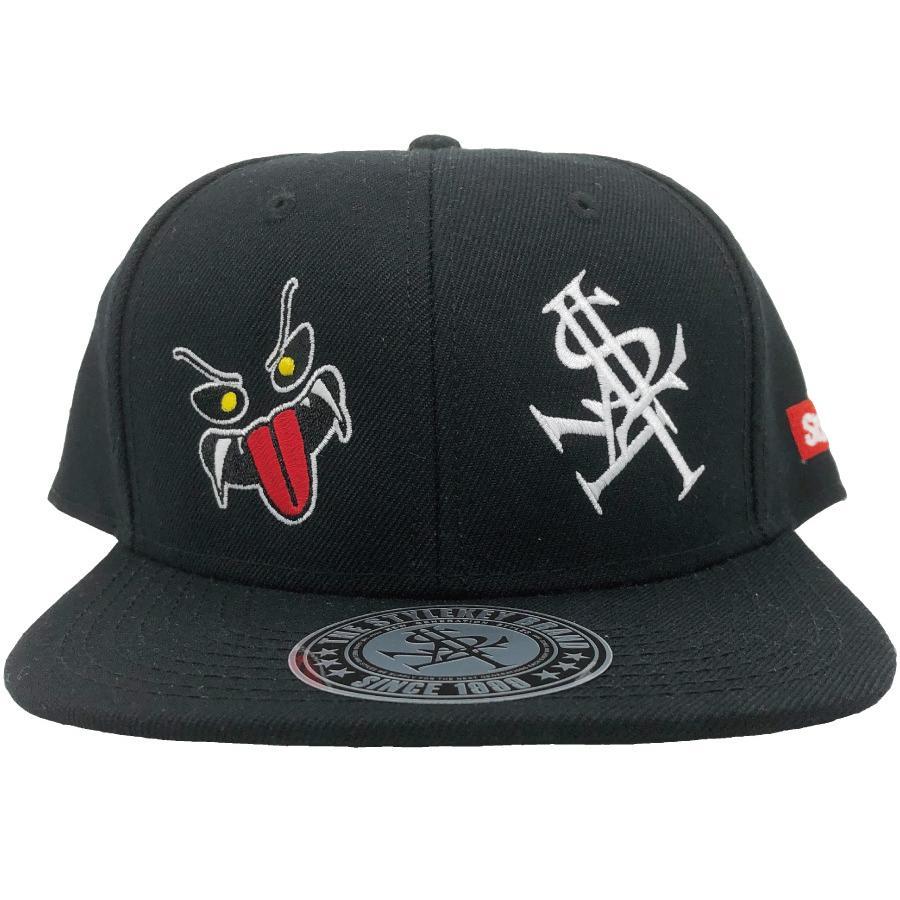 STYLEKEY(スタイルキー) スナップバックキャップ MONSTER HOUSE SNAPBACK CAP(SK21SP-CP02) ストリート ヒップホップ レゲエ バンド B系 帽子 ロゴ ブラック 黒|b-bros|08