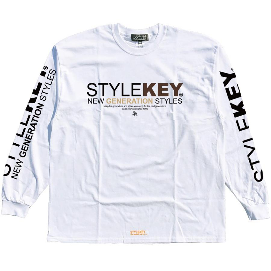 STYLEKEY(スタイルキー) 長袖Tシャツ SYMBOL OF POWER L/S TEE(SK21SP-LS05) ロングスリーブTシャツ ストリート ヒップホップ レゲエ B系 ロゴ 大きいサイズ|b-bros|08