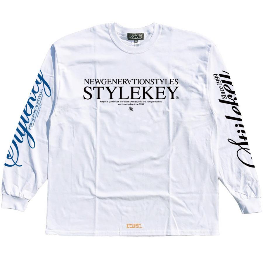 STYLEKEY(スタイルキー) 長袖Tシャツ BALANCE L/S TEE(SK21SP-LS08) ロングスリーブ ストリート ヒップホップ レゲエ B系 正義の天秤 フォト ロゴ 大きいサイズ|b-bros|08