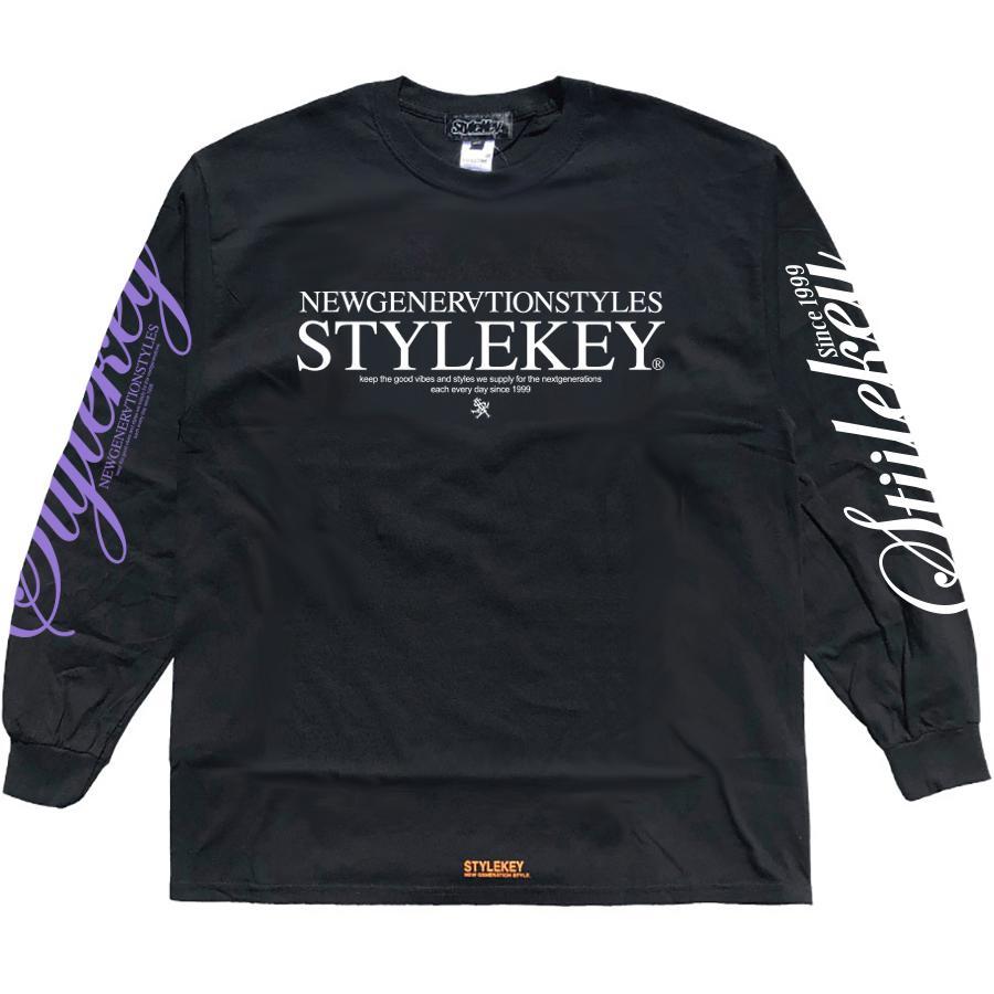 STYLEKEY(スタイルキー) 長袖Tシャツ BALANCE L/S TEE(SK21SP-LS08) ロングスリーブ ストリート ヒップホップ レゲエ B系 正義の天秤 フォト ロゴ 大きいサイズ|b-bros|09