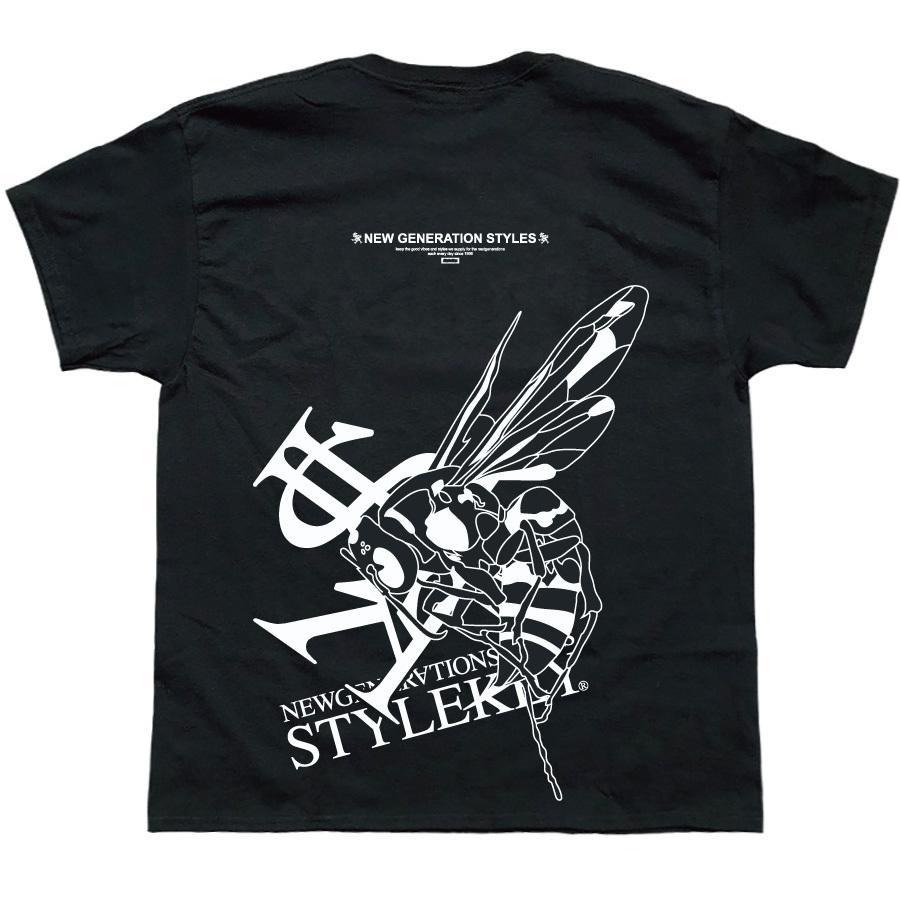 STYLEKEY スタイルキー 半袖Tシャツ ONE SHOT S/S TEE(SK21SP-SS10) ストリートファッション ヒップホップ レゲエ ダンス B系 蜂 ロゴ 大きいサイズ|b-bros|09