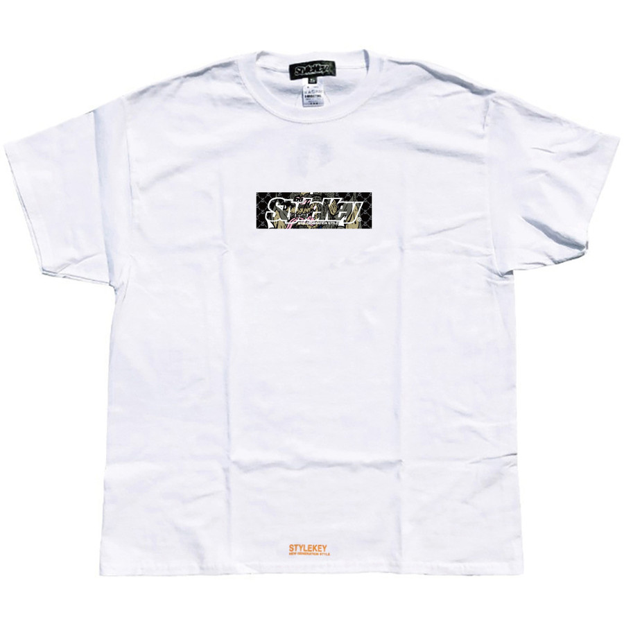 STYLEKEY スタイルキー 半袖Tシャツ CRAZY BOX S/S TEE(SK21SU-SS09) ストリート系 B系 レゲエ ロック ボツクス ロゴ バンド 大きいサイズ|b-bros|08