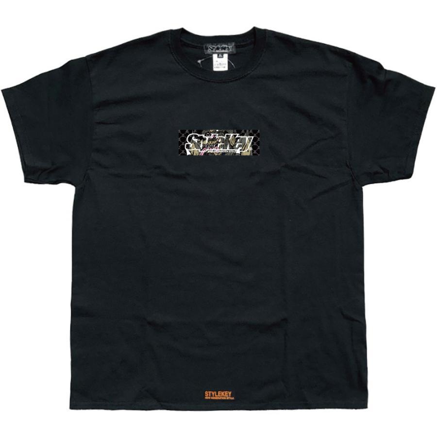 STYLEKEY スタイルキー 半袖Tシャツ CRAZY BOX S/S TEE(SK21SU-SS09) ストリート系 B系 レゲエ ロック ボツクス ロゴ バンド 大きいサイズ|b-bros|09