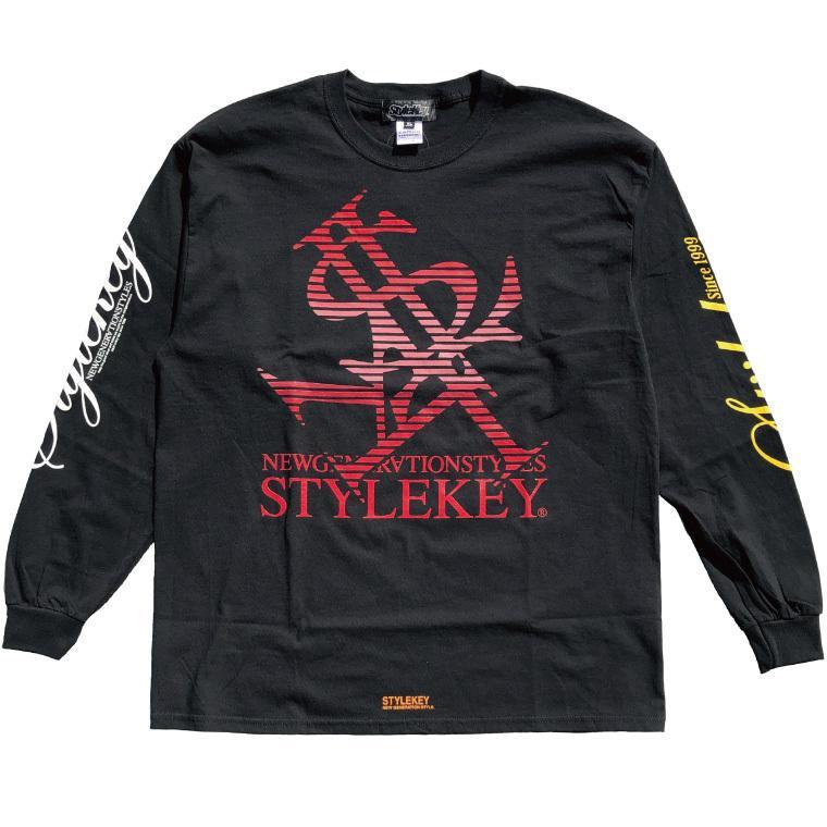 STYLEKEY CLASSIC LABEL(スタイルキー クラシック・レーベル) 長袖Tシャツ BLIND L/S TEE(SK99CL-LS01) ロングスリーブ ストリート ロゴ 大きいサイズ|b-bros|09