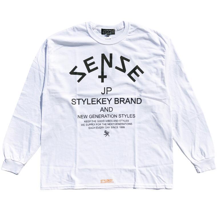 STYLEKEY CLASSIC LABEL(スタイルキー クラシック・レーベル) 長袖Tシャツ COMMON SENSE L/S TEE(SK99CL-LS02) ロングスリーブ ストリート ロゴ 大きいサイズ b-bros 08