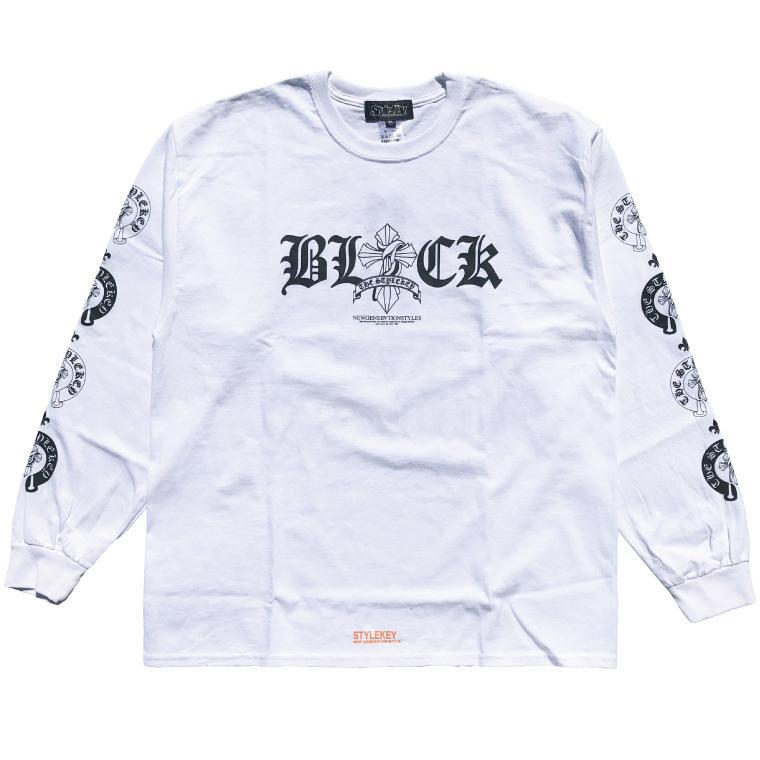 STYLEKEY CLASSIC LABEL(スタイルキー クラシック・レーベル) 長袖Tシャツ KINGDOM L/S TEE(SK99CL-LS08) ロンT ストリート ロック バンド 大きいサイズ|b-bros|08