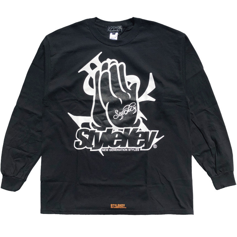 STYLEKEY CLASSIC LABEL(スタイルキー クラシック・レーベル) 長袖Tシャツ PRAY FOR YOU L/S TEE(SK99CL-LS10) ロンT ストリート ヒップホップ 大きいサイズ b-bros 09