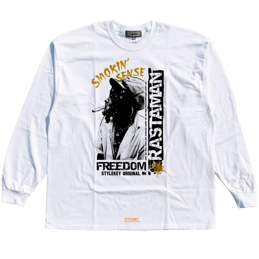 STYLEKEY CLASSIC LABEL(スタイルキー クラシック・レーベル) 長袖Tシャツ RASTAMAN L/S TEE(SK99CL-LS12) ロンT ストリート ヒップホップ 大きいサイズ|b-bros|08