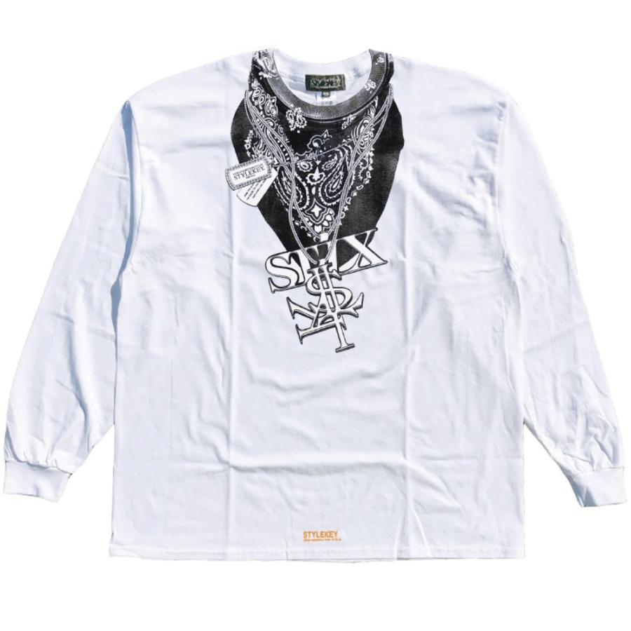 STYLEKEY CLASSIC LABEL(スタイルキー クラシック・レーベル) 長袖Tシャツ HUSTLER L/S TEE(SK99CL-LS13) ロンT ストリート ヒップホップ 大きいサイズ|b-bros|08