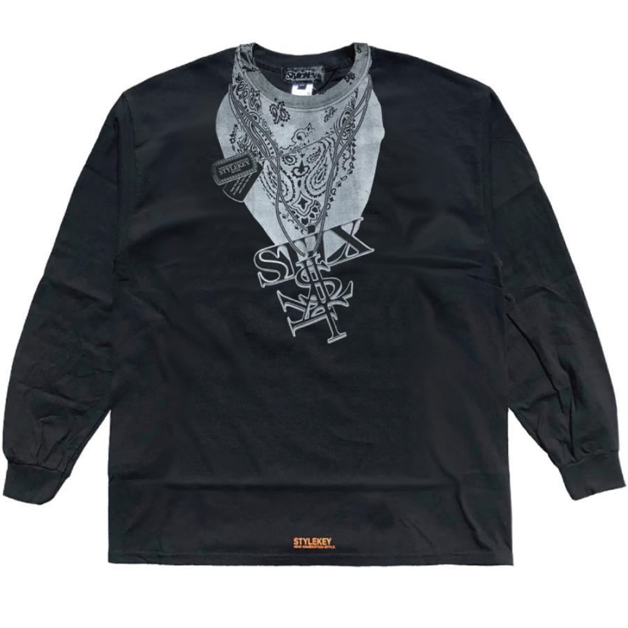 STYLEKEY CLASSIC LABEL(スタイルキー クラシック・レーベル) 長袖Tシャツ HUSTLER L/S TEE(SK99CL-LS13) ロンT ストリート ヒップホップ 大きいサイズ|b-bros|09