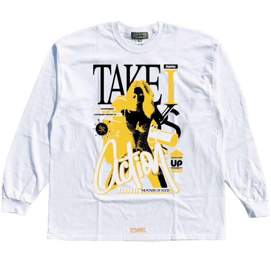 STYLEKEY CLASSIC LABEL(スタイルキー クラシック・レーベル) 長袖Tシャツ ACTION L/S TEE(SK99CL-LS14) ロンT ストリート ヒップホップ 大きいサイズ|b-bros|08