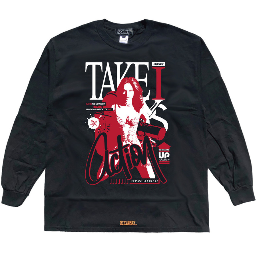 STYLEKEY CLASSIC LABEL(スタイルキー クラシック・レーベル) 長袖Tシャツ ACTION L/S TEE(SK99CL-LS14) ロンT ストリート ヒップホップ 大きいサイズ|b-bros|09