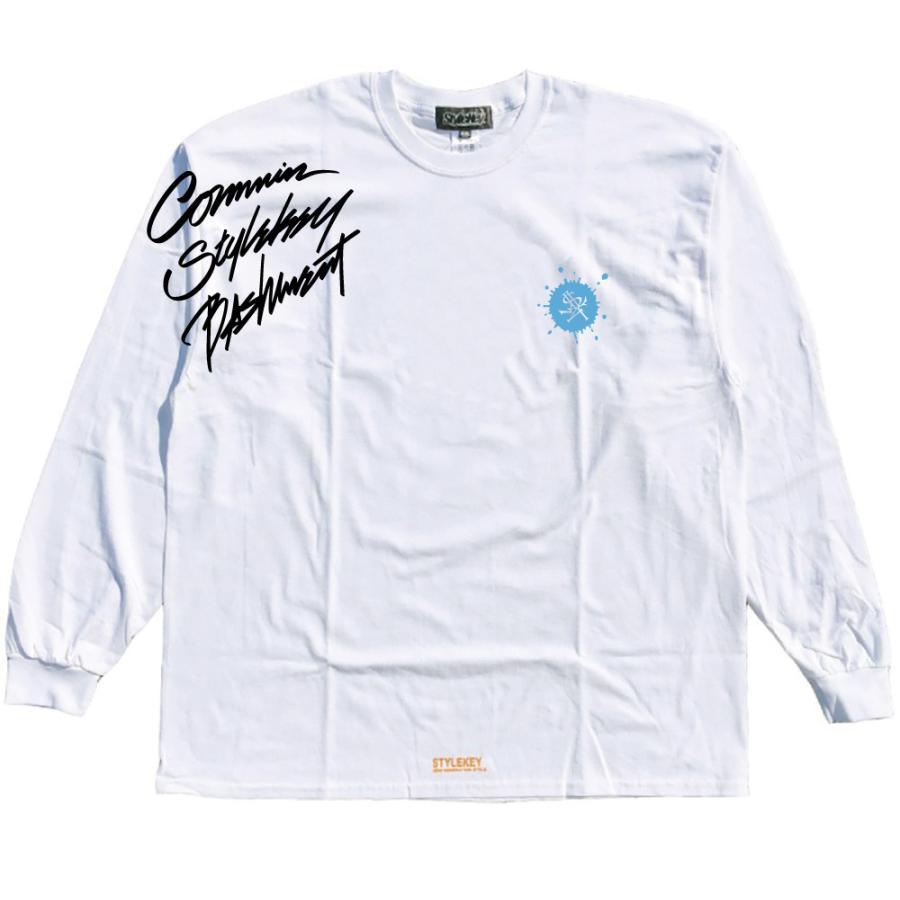 STYLEKEY CLASSIC LABEL(スタイルキー クラシック・レーベル) 長袖Tシャツ CORE BUSH L/S TEE(SK99CL-LS16) ロンT ストリート ヒップホップ 大きいサイズ|b-bros|08