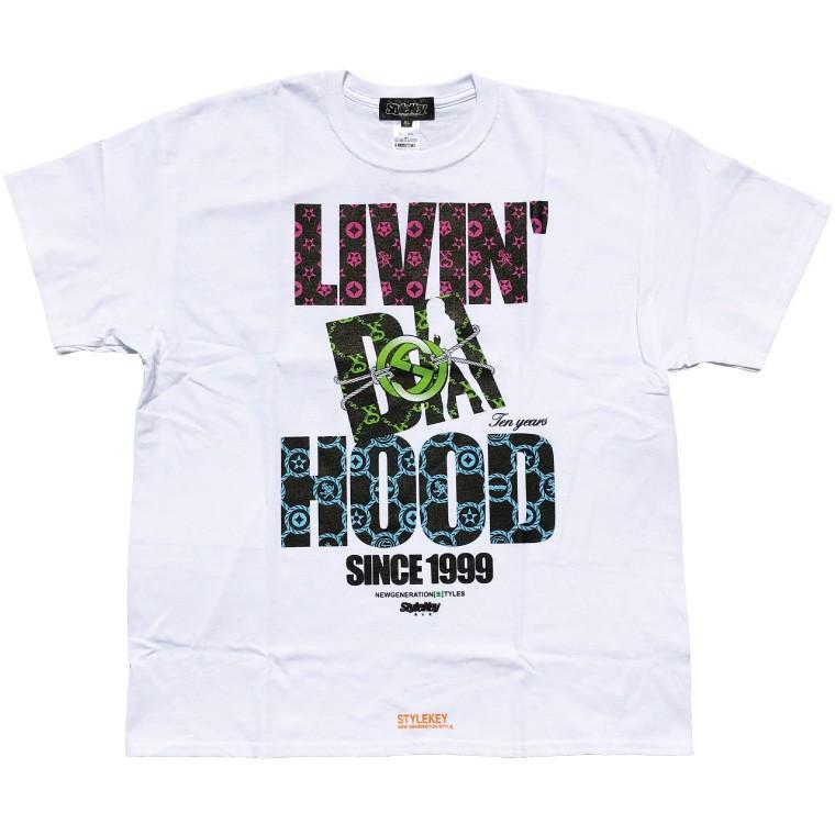 STYLEKEY CLASSIC LABEL スタイルキー クラシック・レーベル 半袖Tシャツ BOND OF HOOD S/S TEE(SK99CL-SS01) ストリート ヒップホップ レゲエ B系 大きいサイズ|b-bros|08